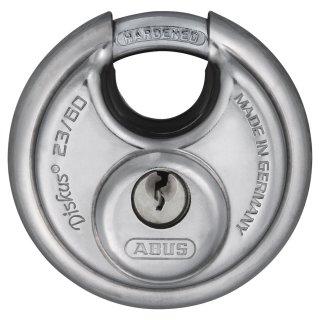 ABUS Diskus 23/60 Vorhangschloss verschiedenschließend mit Mehrschlüssel