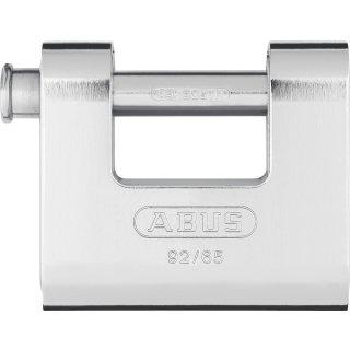 ABUS 92/65 Vorhangschloss Monoblock mit Stahlmantel gleichschließend
