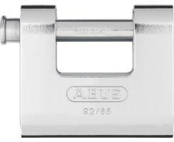 ABUS 92/65 Vorhangschloss Monoblock mit Stahlmantel...