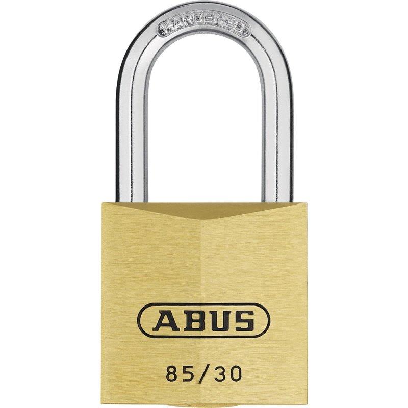ABUS 85//30HB65 Messing-Hangschloss