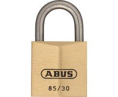 ABUS 85IB/30 Vorhangschloss aus massivem Messing...