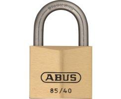 ABUS 85IB/40 Vorhangschloss aus massivem Messing...