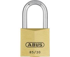 ABUS 85/30HB24 Vorhangschloss aus massivem Messing...