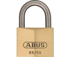 ABUS 85IB/50 Vorhangschloss aus massivem Messing...