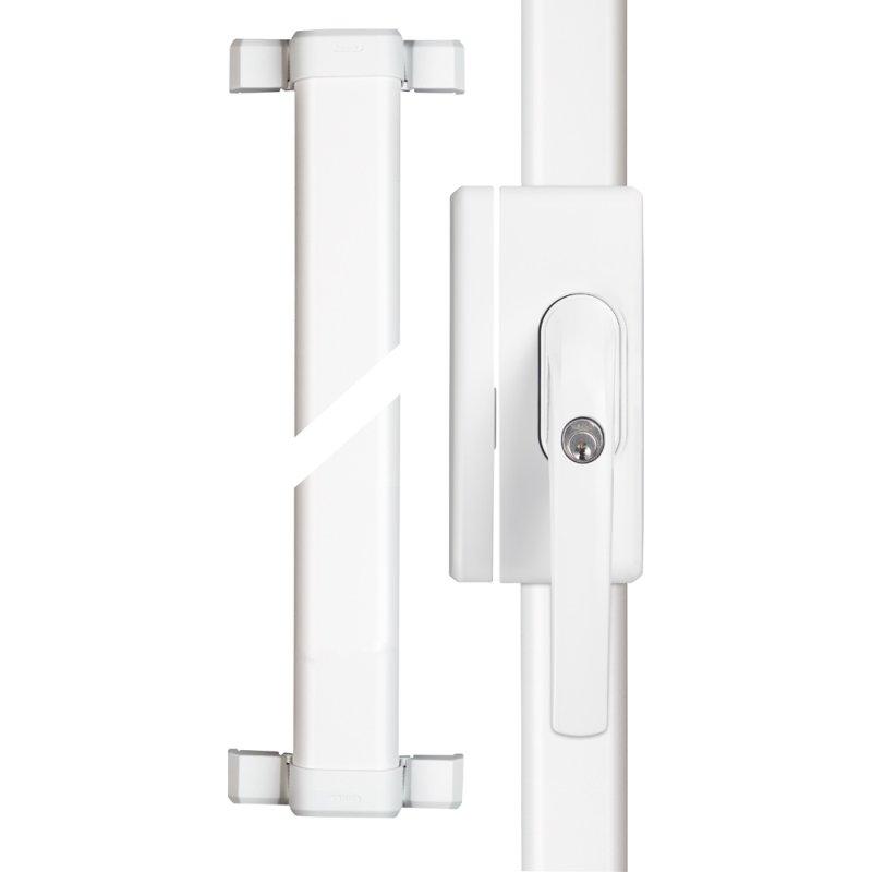 ABUS FOS 650 weiß Fenster Stangenschloss Basisset VdS FOS650 W