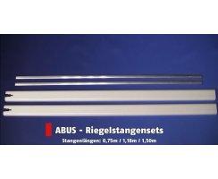 ABUS FOS550 / FOS650 Stangensets braun alle Längen für Fensterstangenschloss