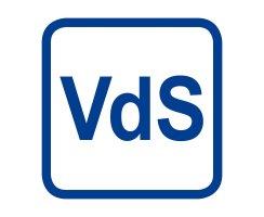 ABUS FOS 650 Farbe silber Fenster Stangenschloss Basisset VdS FOS650 S