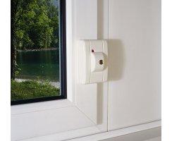ABUS FTS99 W weiß VdS Automatisch verschließendes Fenster-Zusatzschloss