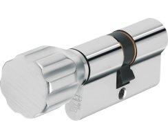 ABUS Knaufzylinder XP20S Gleichschließend Z45/K60 mm Wendeschlüssel