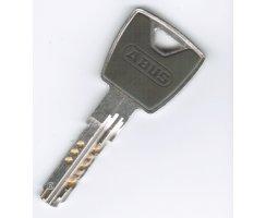 ABUS Türzylinder XP20S gleichschließend Not Gefahrenfunktion 50/50 mm Wendeschlüssel