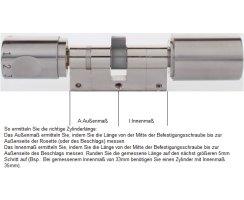 ABUS Seccor CodeLoxx Panik Proximity Protokoll elektronische Zylinder alle Längen