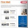 ABUS Halbzylinder EC550 Wendeschlüssel 10/35 mm mit 3 Schlüssel