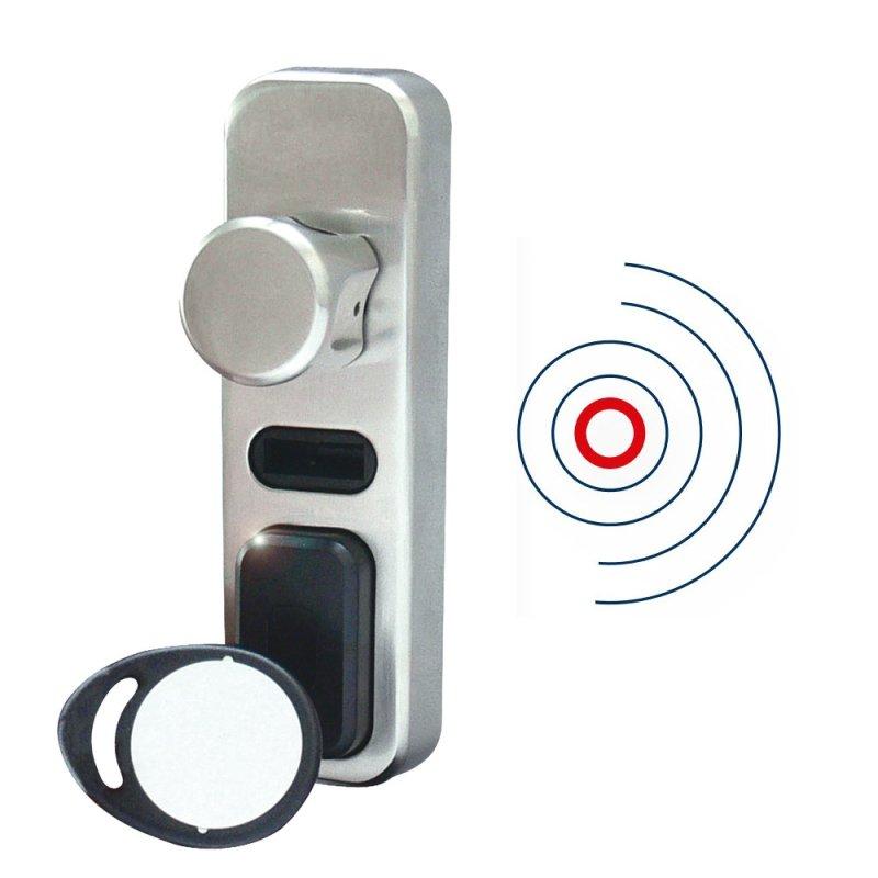 seccor elektronischer zylinder zl alarm proxi leser abus sicherheitstechnik von first mall. Black Bedroom Furniture Sets. Home Design Ideas