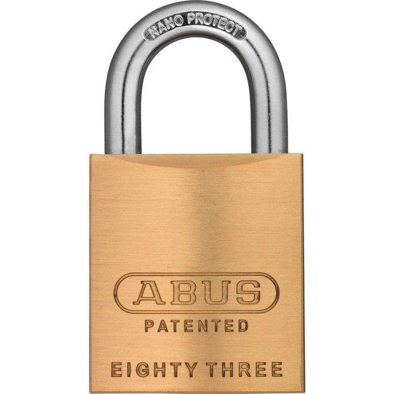 ABUS Vorhangschlösser XP20S Gleichschließend Vorhangschloss 83/45 XP20