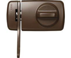 ABUS 7030 B EK Tür Zusatzschloss braun mit...