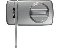 ABUS 7030 S EK Tür Zusatzschloss silber mit...
