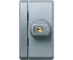 ABUS FTS96A silber Fenster-Zusatzsicherung mit Alarm...