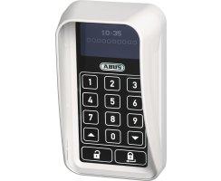 ABUS HomeTec Pro CSS3000W weiß Sichtschutz Funk-Tastatur Regenschutz