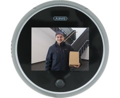 ABUS elektronischer Digitaler Türspion Kamera Bildschirm Display rund DTS3218