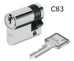ABUS SE1000 Aufputz Schlüsselschalter mit XP20S Zylinder + 5 Schüssel