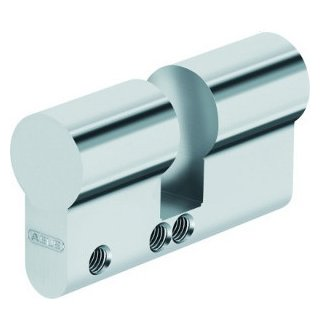 ABUS Blindzylinder mattvernickelt PZ-Lochung 35 mm