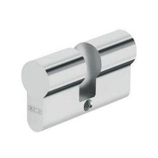 ABUS Blindzylinder mattvernickelt PZ-Lochung 45 mm