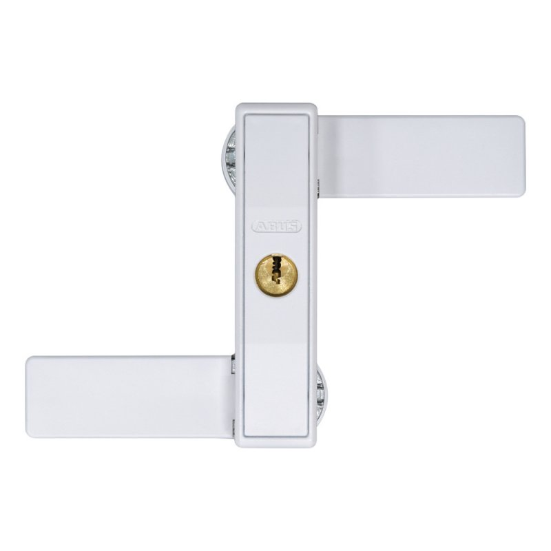 ABUS 2530 W weiß Fenster Doppelflügelfenster Sicherung AL0089