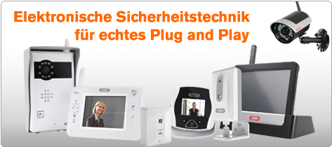 ABUS Plug and Play Sicherheit