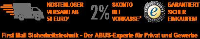 Der ABUS Experte für Privat und Gewerbe - First Mall Sicherheitstechnik