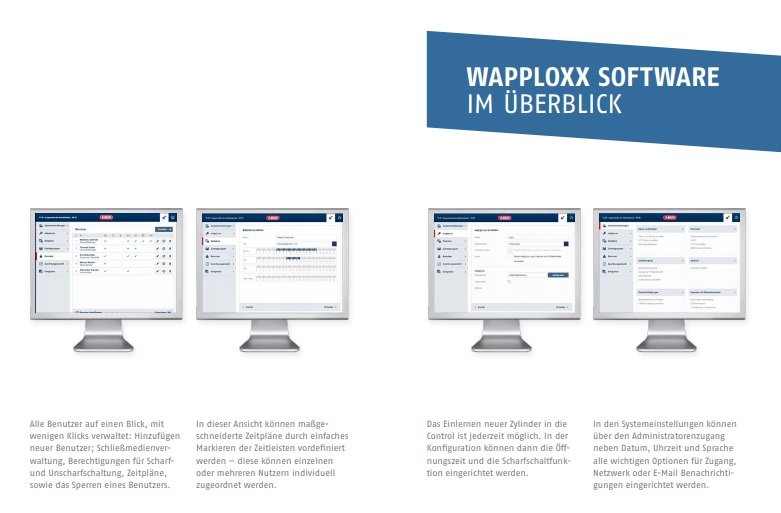 ABUS wAppLoxx Software
